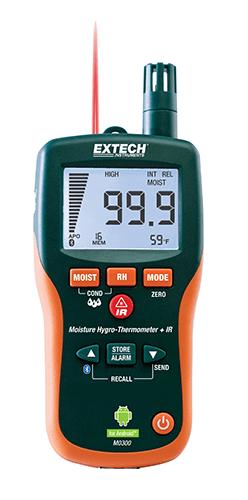 EXTECH MO300 moisture meter