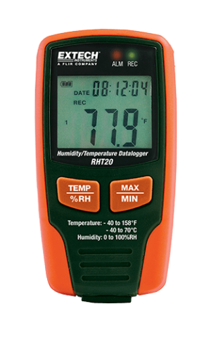 EXTECH RHT20 humidity gauge